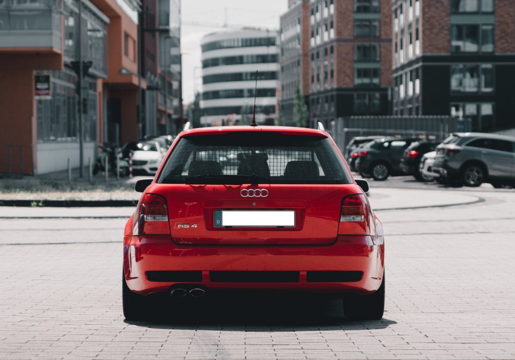 Audi RS4 Heck