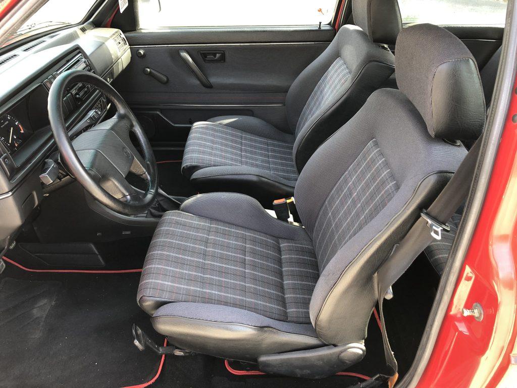 VW Golf 2 GTI HZ Ausstattung