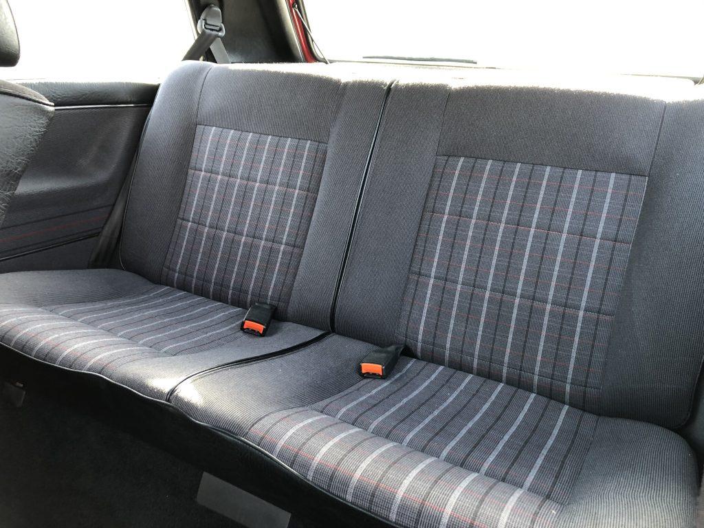 VW Golf 2 GTI HZ Innenausstattung